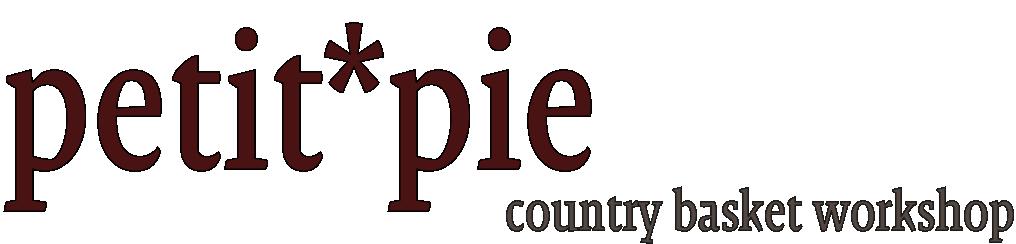 petit*pie-クラフトバンド・紙バンドで作るバスケット・プチパイ