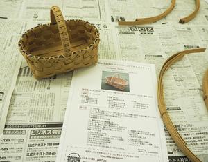 堺筋本町でミニミニバスケットを作りましょう